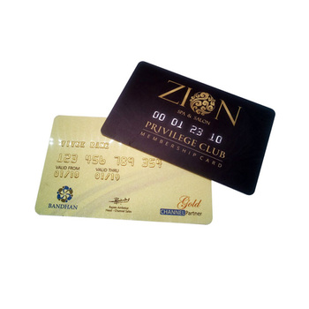 Low Price Plastic Embossed Credit Business Card