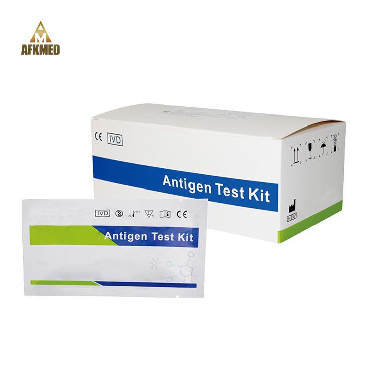 Medical diagnostic antigen rapid test for 20 persons Best price antigen rapid test strip kit