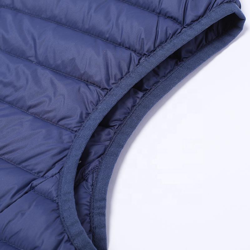 Huiquan инновационный белый жилет на утином пуху, женская верхняя одежда с практичными карманами