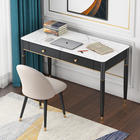 Factory direct high-quality Light luxury marble office table simple modern Nordic minimalist small family study laptop desk home