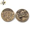 3D bronze coin