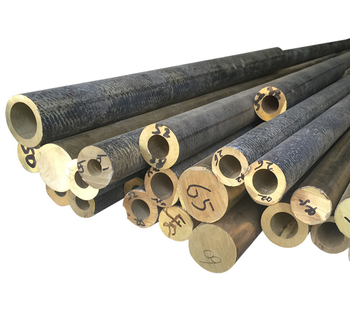 Hollow Bars C62400 Aluminum Bronze Brass Rod Round Is Alloy Industrial as Request CN;JIA Liaofu 85% Clients` Requirement