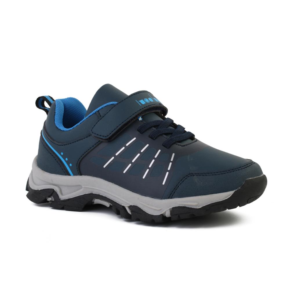 Лидер продаж, Спортивная модная обувь на танкетке для детей, черные кроссовки для мальчиков