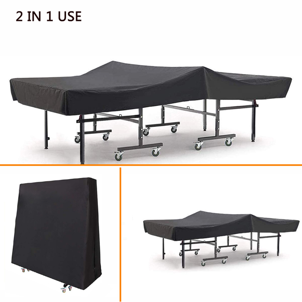 quick delivery Direct Sales uvproof Ping-pong table Cover foldable Table Tennis table Cover