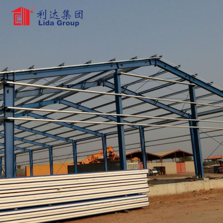 Антикоррозийный стальной строительный склад, сборная стальная конструкция, строительная стальная конструкция