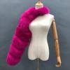 hot pink fur sleeve