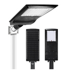 100w Led Led Solar Street Light 100w Led KCD High Brightness And Long Life-span Parking Lot Area Solar Power 30W 50W 100W 150W 200W Street Light Led Outdoor