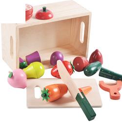 Прямая продажа с фабрики, высокое качество, креативные цвета, качественные деревянные фрукты и овощи, детские игрушки для резки, оптовая продажа, деревянные C