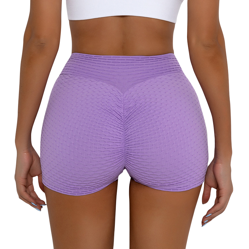 Women Compression Soft Stretchy Comfort Seamless Scrunch Booty Shorts