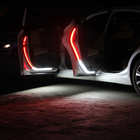 Led Lights Light Warning Led Light Car Door Opening Warning Led Lights Welcome Decor Lamp Strip Anti Rear-end Collision Safety Universal White Red Strobe Car Light