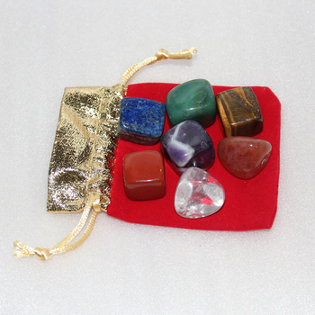 Cheap Price Seven Chakra Sets Natural Mineral Gemstones Crystal Healing Stones