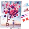 Short Lint Canvas Balloons