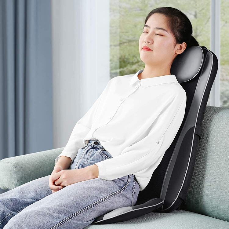 Back Relax Deep Tissue Shiatsu Massage Cushion For Car Seat