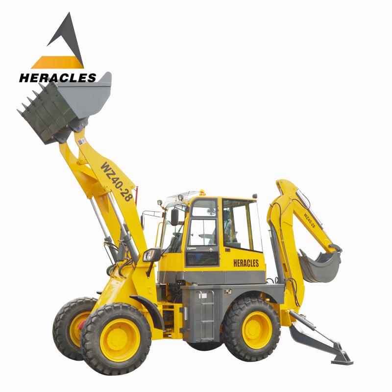 3ton rated load china made wheel backhoe loader chinese backhoe loader with price for sale