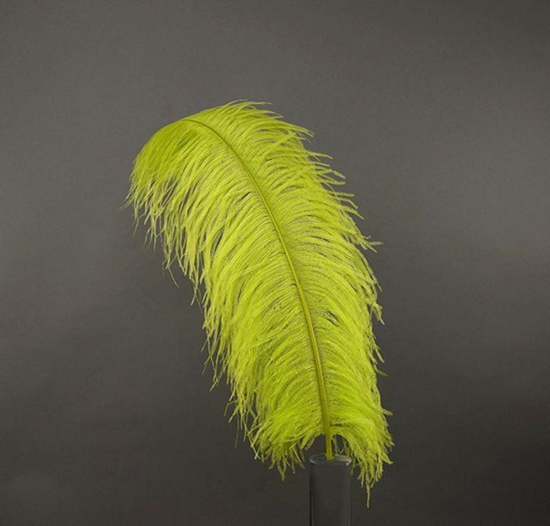 Производитель белых страусиных перьев 70-75 см, отборное страусиное перо для одного страусиного пера