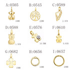 Sterling Pendant 925 Sterling Silver Plated 18K Gold Charm Bear Pendant Elegant Fashion Pendant Is Suitable For Matching With Bear Necklace