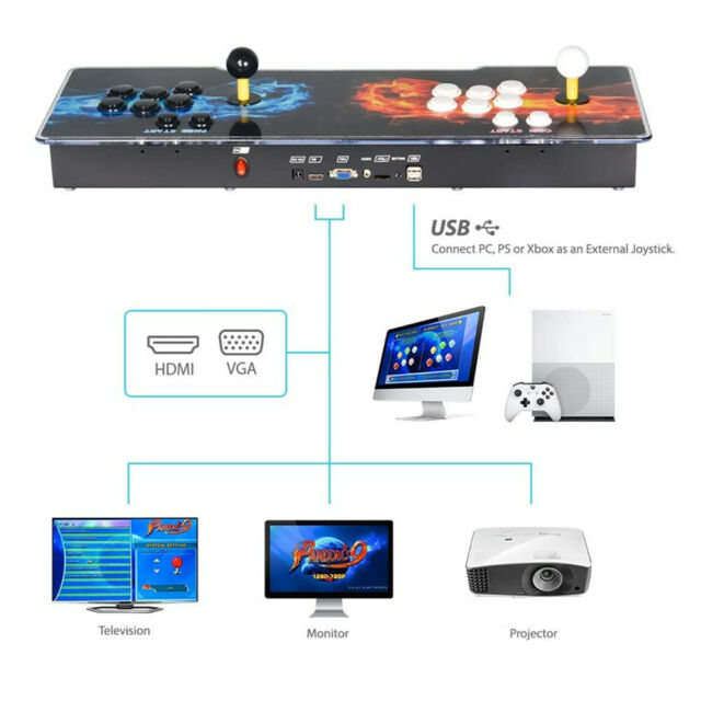 2020 Beltroad Pandora Box 11S 3399 in one 2D&3D Arcade Games Console HD Video Game Machines you can custom-made the desk design