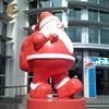 Santa Claus gran escultura