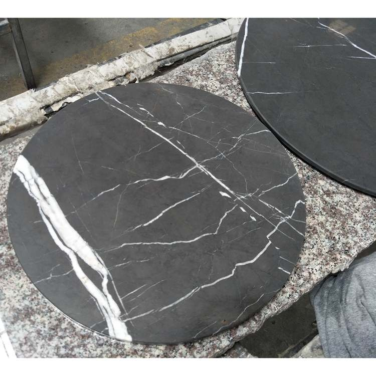 Grey Marble Table Top Round Pietra Gray Marble Tops For Coffee Table Buy Custom Cut Marble Table Top 48 Round Marble Table Top Marble Restaurant Table Top Product On Alibaba Com