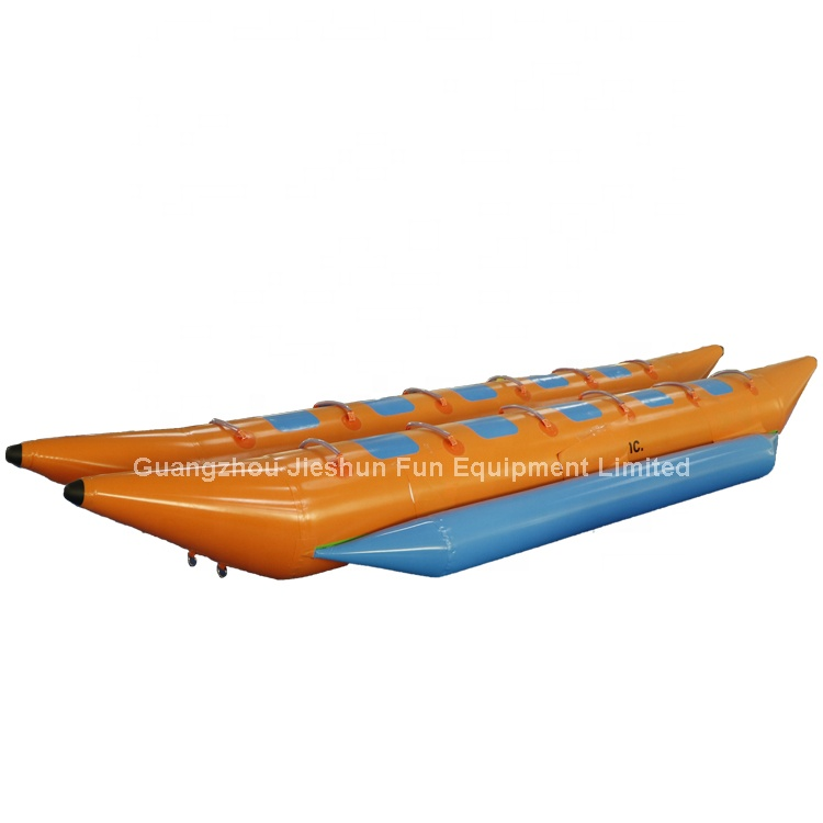 Water Inflatable Toy Boat Durable Inflatable Banana Boat For Adult