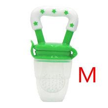 Прорезыватель для зубов для детей ясельного возраста с овощами и фруктами, игрушка для прорезывания зубов, кольцо, Жевательная пустышка(Китай)