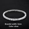 3mm Silver Bracelet
