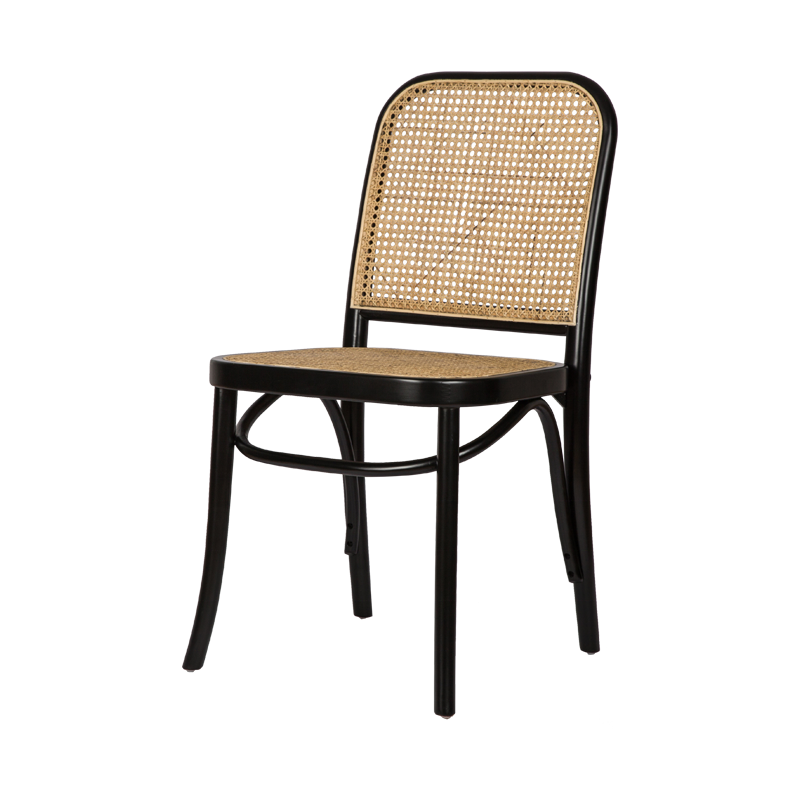 Provincial Style Rattan Solid Wood Frame Dining Chair Black Rattan Chair Buy Black Rattan Chair Rattan Wood Chair Dining Chair Rattan Product On Alibaba Com
