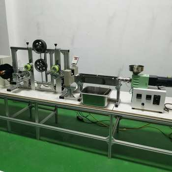 SJ15 Mini 3D filament extrusion line lab small 3D printer filament production line labarotary extruder