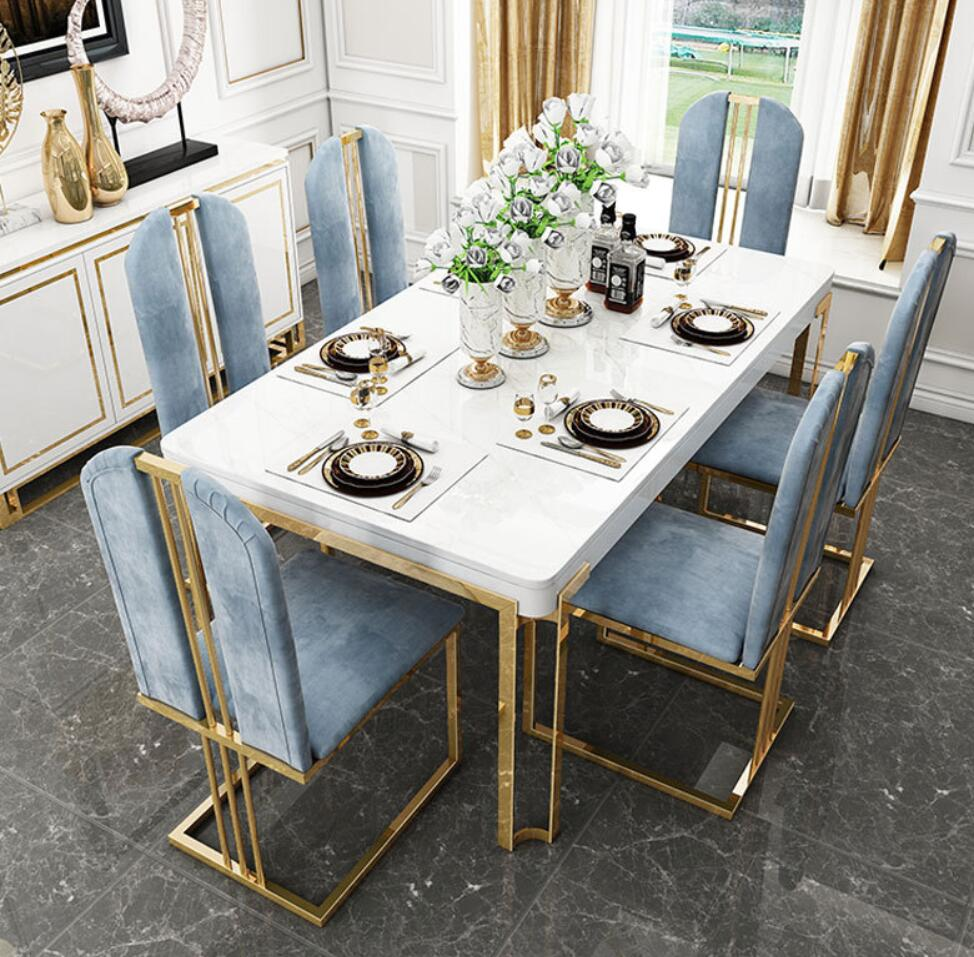 Dining Table Set 9 Chairs New Model   Buy Dining Table Set 9 ...