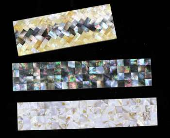 Natural black&white&Iridescent mop And Abalone Seashell Mosaic Tile
