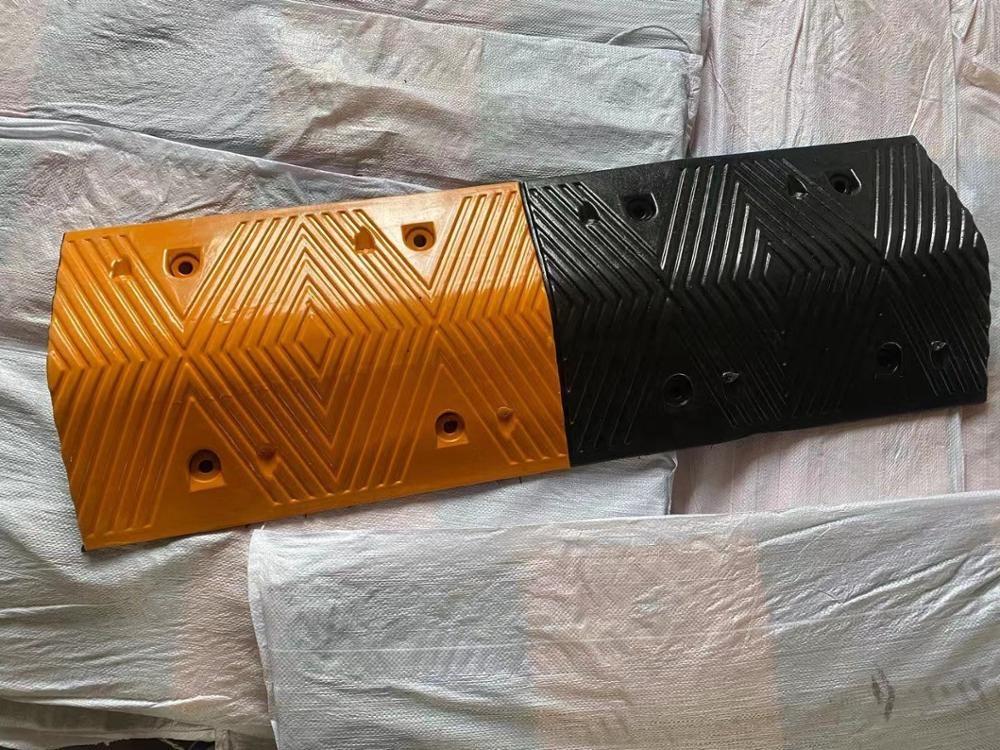 1000*350*70 мм для Стоянкы Автомобилей Автомобиля наклон предел пояса буфера шоссе тормозной резиновый лежачий полицейский