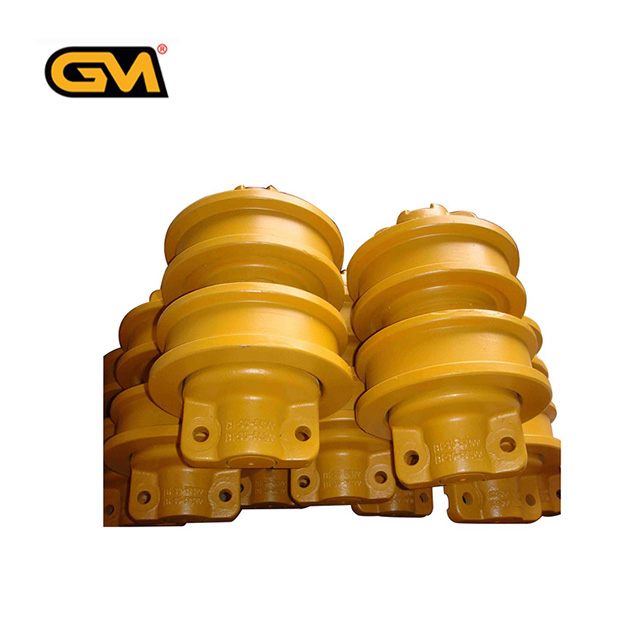 excavator track roller spare parts suitable for Doosan and Kobelco