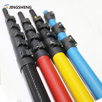 Carbon Fiber telescopic pole for Gutter Cleaning