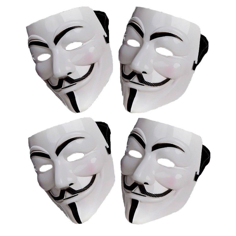 Factory wholesale anonymous hacker V for vendetta games master face mask fancy dress costume halloween