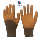Non Slip Gloves Latex Coated Glove China Wholesale 13 Gauge Polyester Non Slip Liner Latex Coated Safety Gloves