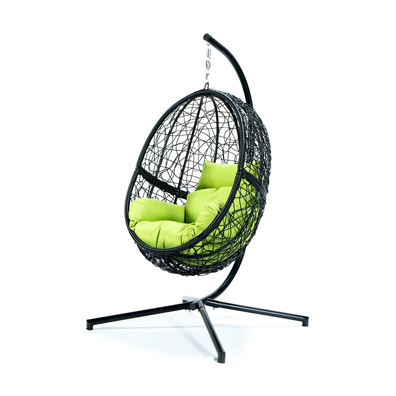 Уличные качели, стул из ПЭ ротанга, патио, Подвесные качели, кресло для яиц