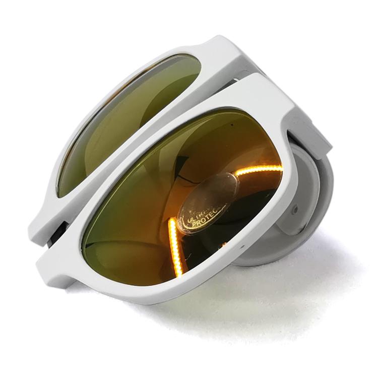 Folding slap clip On wrist trendy wristband slap on Sunglasses folding clip on sunglasses