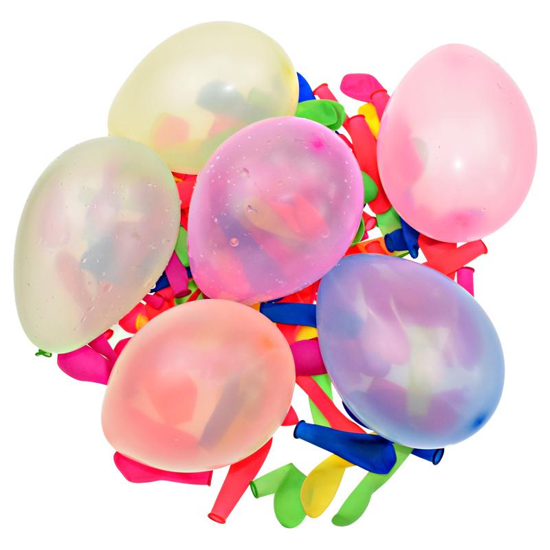 Летние горячие продажи Amazon быстрозаполняющие водяные шары самозапечатывающиеся 1000 шт. воды шары Заполняемые комплекты для детей девочек мальчиков Набор воздушных шаров