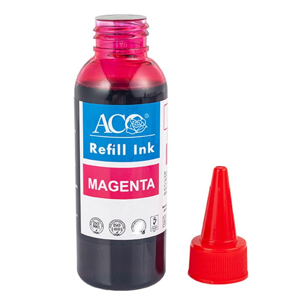Оптовая продажа с завода ACO, чернила для краски в бутылках, совместимые с струйным принтером Epson Canon HP Brother