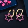 zircon earrings 1