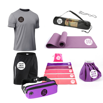 Promotional Gift Sets Levin Promos 2021 New Custom Gym Fitness Health Yoga Sports Exercise Workout Training Sets