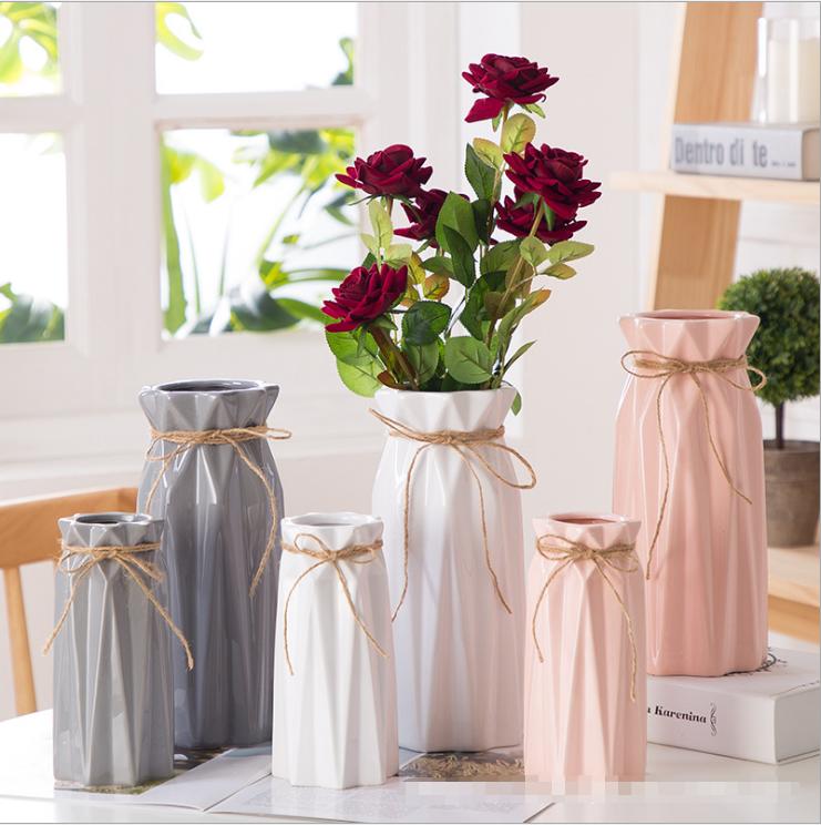 Factory directly sell Beautifullys vase flower vase use Ceramic Vase