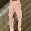 Pink pant without Velcro