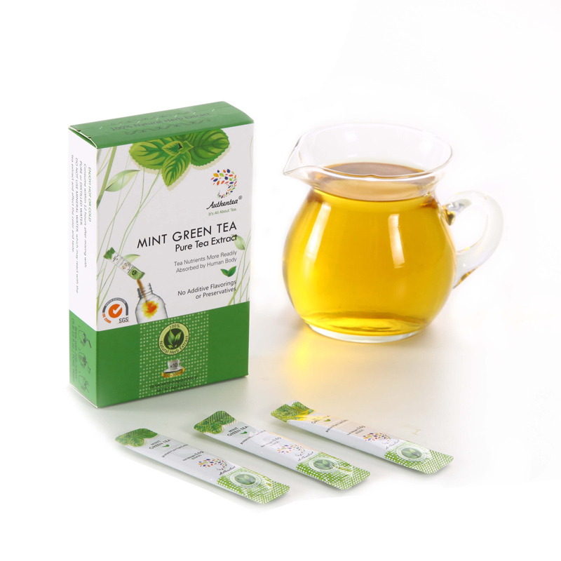 Private Formula Private Label Premium Instant Tea Extract Supplier Herbal Mint Green Tea Extract Crystal Powder - 4uTea | 4uTea.com