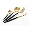 Gold+Black, 4pcs set