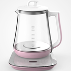 Appliance Factory Price 1200W 1.8L Glass Water Electric Kettle Tea Kettle 360 Degree Rotational Of Home Appliance