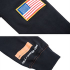 Hoodie Usa Quality Hoodie MOQ 1Pc Custom Logo Hoodie With Oversize Embroidery And Printed LOGO USA Flag