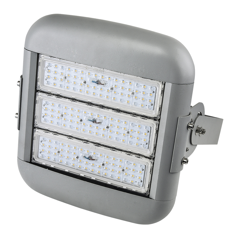 50 watts outdoor long working hours high brightness asymmetric aluminum led flood light price with lens