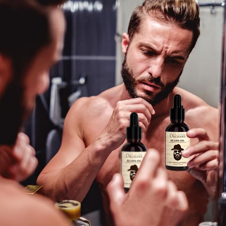 Лучшее масло для бороды, натуральный и органический кондиционер, смягчитель-способствует росту бороды и укрепляет аромат, бесплатно для мужчин