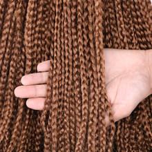 Mtmei, заколка для волос, косички для наращивания, 18 дюймов, коробка, косички, парик, волосы, 14 дюймов, коробка, плетение, волосы для наращивания, ...(Китай)